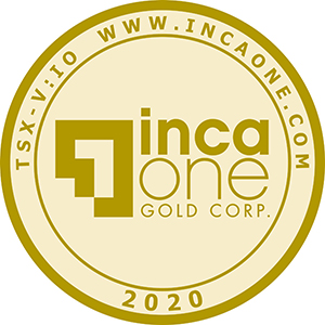 Inca One's inaugural 1-ounce gold coin (Front)